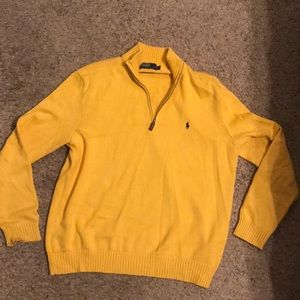Ralph Lauren 1/4 Zip Sweater